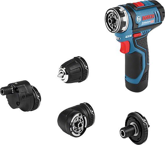 Bosch GSR 12V-15 FC Flex Professional,2x aku,1x nabíječka + DOPRAVA ZDARMA