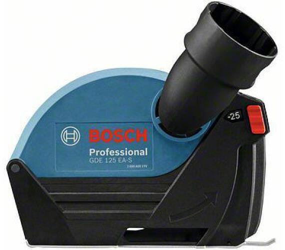 Bosch vodicí saně s odsávacím hrdlem GDE 125 EA-T Professional + DOPRAVA ZDARMA