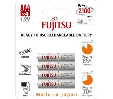 HR03 4BP AAA White NiMH 750mAh FUJITSU Fujitsu-Siemens