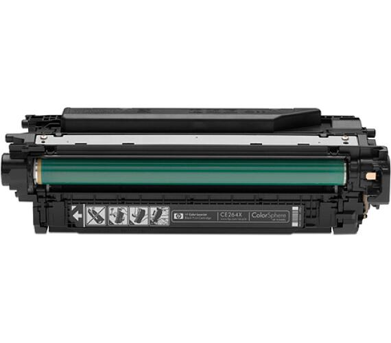 HP 646X - černý Contract Toner