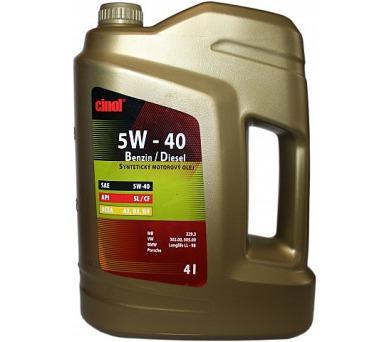 Cinol 5W-40 Benzin/Diesel - 4L