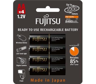 HR6 4BP AA Black NiMH 2450mAh FUJITSU Fujitsu-Siemens