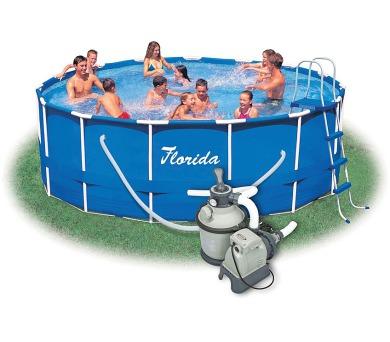Bazén Florida 4,57x1,22 m + Písková Filtrace Sand 4 SET ( 2 kart.) + DOPRAVA ZDARMA