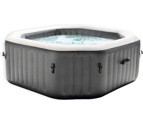 Marimex bazén vířivý nafukovací Pure Spa - Bubble HWS čtverec - NOVĚ V ANTRACITOVÉ BARVĚ (11400221) + DOPRAVA ZDARMA