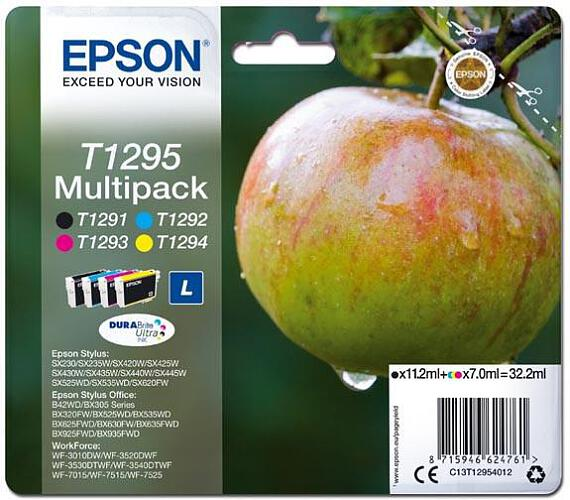 Epson Multipack 4-colours T1295 DURABrite UltraInk