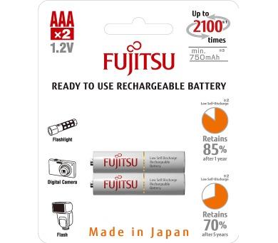 HR03 2BP AAA White NiMH 750mAh FUJITSU Fujitsu-Siemens
