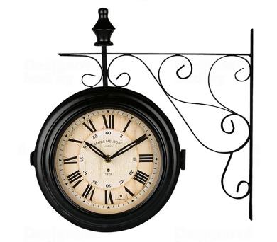 Oboustranné nástěnné hodiny 14754 Lowell 26cm + DOPRAVA ZDARMA