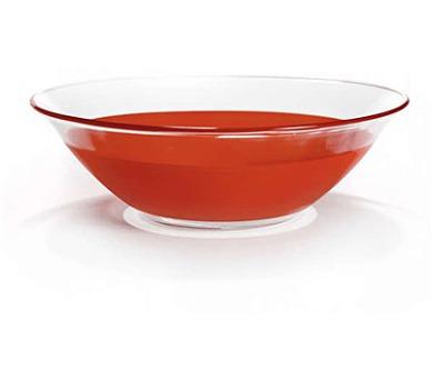 BANQUET Mísa skleněná ROSSO 25,4 cm