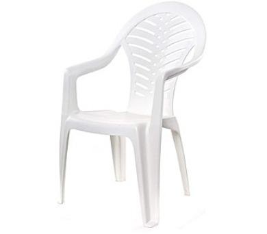 HAPPY GREEN Židle plastová s vysokým opěradlem