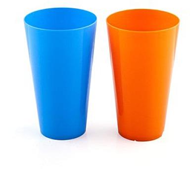 Pohár nápojový plastový dia 8,8 cm x 15 cm