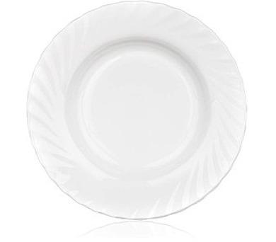 Talíř skleněný hluboký TRIANON 22,5 cm