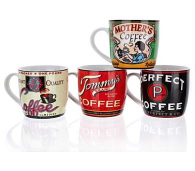 Hrnek keramický RETRO COFFEE 310 ml