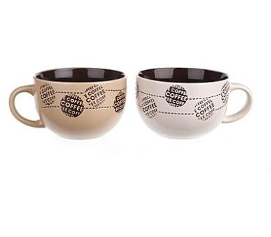 Hrnek keramický jumbo COFFE 660 ml