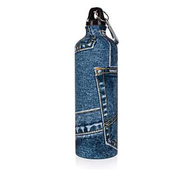 Láhev sportovní ROCK Jeans 0,75 l