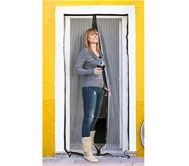 BRILANZ Síť na dveře proti hmyzu 100 x 210 cm