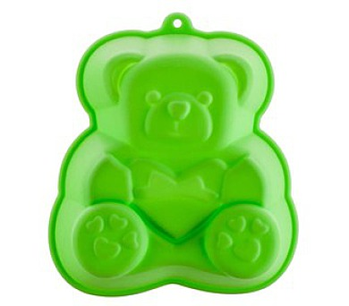 BANQUET Forma silikonová CULINARIA Green 14,2 x 12,3 x 3,5 cm