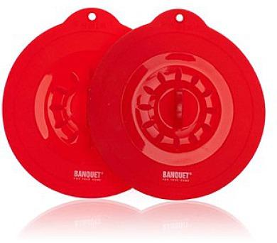 BANQUET Poklice silikonová CULINARIA Red 10,5 cm