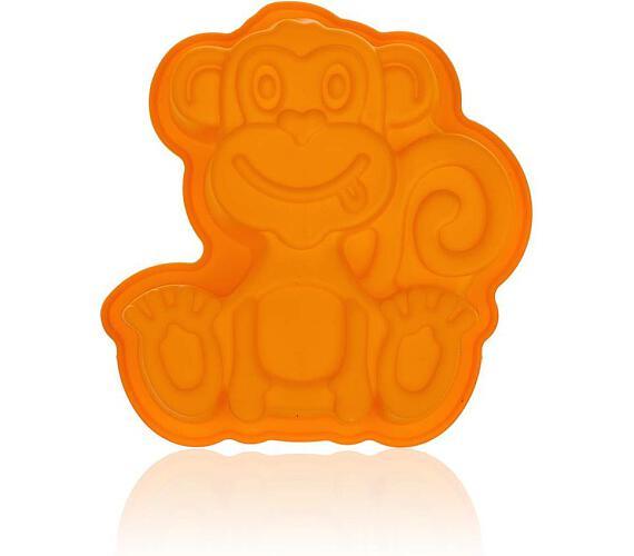 BANQUET Forma silikonová CULINARIA Orange 19,5 x 19,5 x 4,7 cm