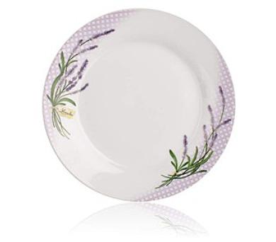 BANQUET Talíř porcelánový dezertní LAVENDER 19 cm