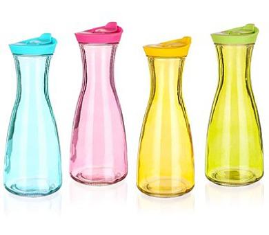 BANQUET Láhev skleněná barevná MÍSTY 900 ml