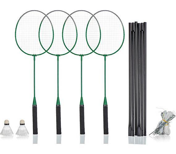 SPORTWELL Sada na badminton pro 4 hráče