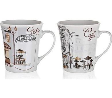 BANQUET Hrnek keramický CAFES 340 ml
