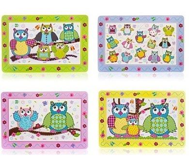 BANQUET Plastové prostírání OWLS 43 x 28 cm