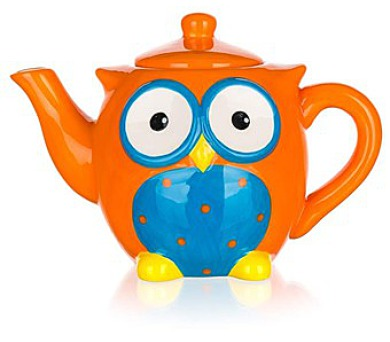 BANQUET Konvice čajová keramická OWL 730ml
