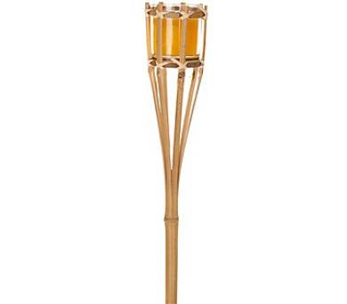FILSON Louč bambusová se svíčkou 90 cm