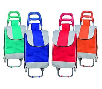 BRILANZ Nákupní taška na kolečkách 95x36x30 assort