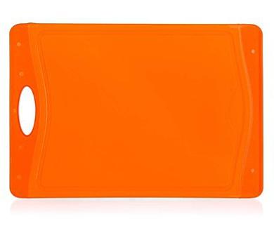 BANQUET Prkénko krájecí plastové DUO Orange 37 x 25,5 cm