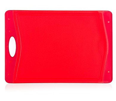 BANQUET Prkénko krájecí plastové DUO Red 37 x 25,5 cm