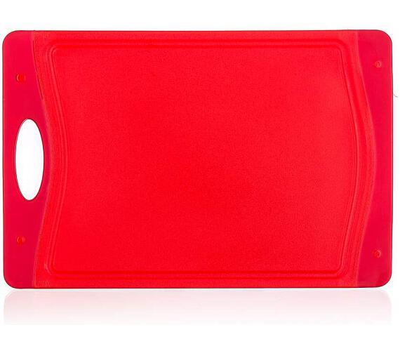 BANQUET Prkénko krájecí plastové DUO Red 29 x 19,5 x 0,85 cm
