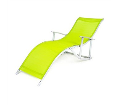 Lehátko plážové Happy Green CANARIA