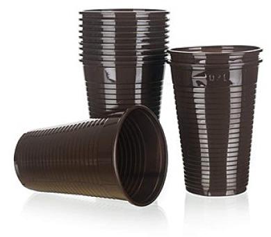Kelímky plastové na kávu MY PARTY 200 ml