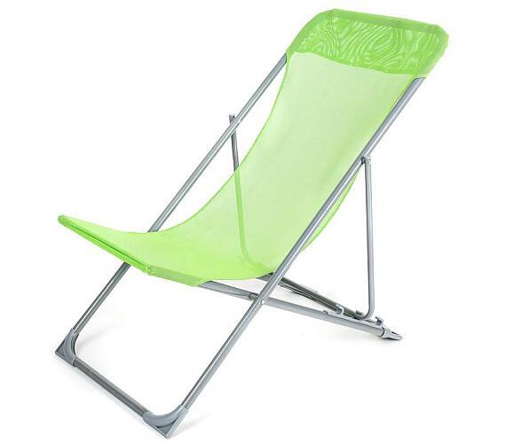Křesílko plážové Happy Green CARIBIC světle zelené