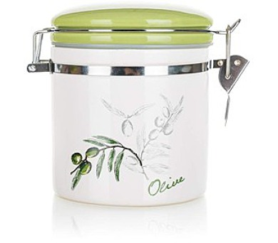 Dóza keramická OLIVES 450 ml