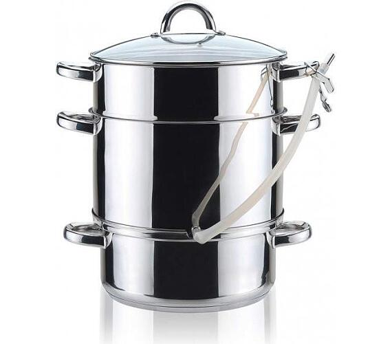 BANQUET Hrnec nerezový na odšťavňování TOWER 8 l + DOPRAVA ZDARMA