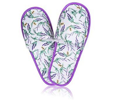 Pantofle domácí dámské a pánské LAVENDER