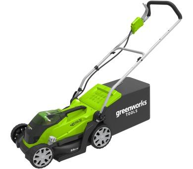 Greenworks G40LM35 + DOPRAVA ZDARMA