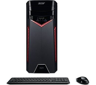 Acer Aspire GX-781/i5-7400/2*8G/1TB/GTX1060/DVD/W10 + DOPRAVA ZDARMA