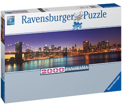 Ravensburger Puzzle New York 2000 dílků + DOPRAVA ZDARMA