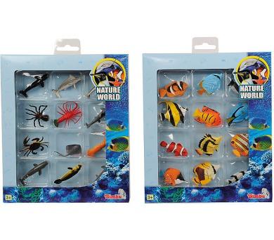 Set ryby a mořští živočichové