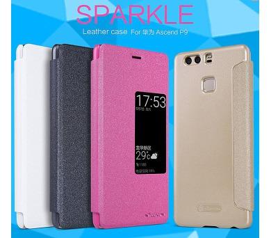 Nillkin Sparkle S-View Pouzdro Black pro Huawei Ascend P9
