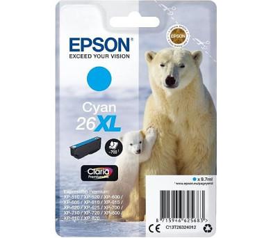 Epson Singlepack Cyan 26XL Claria Premium Ink + DOPRAVA ZDARMA