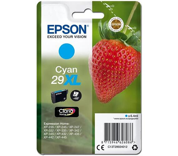 Epson Singlepack Cyan 29XL Claria Home Ink (C13T29924012)