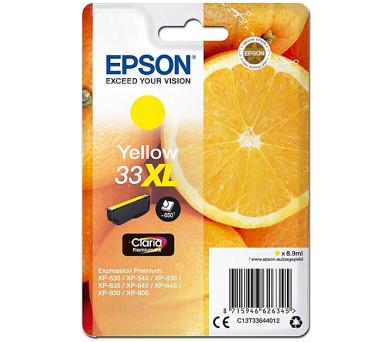 Epson Singlepack Yellow 33XL Claria Premium Ink (C13T33644012)