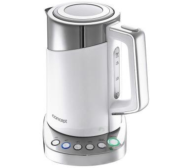 Concept RK3170 Rychlovarná konvice s termoregulací Cool Touch 1,7 l WHITE