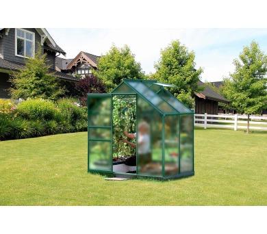 Skleník Lanit Plast VITAVIA VENUS 2500 matné sklo 4 mm zelený