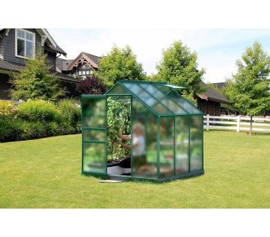 Skleník Lanit Plast VITAVIA VENUS 3800 matné sklo 4 mm zelený